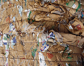 Recycling Waste Paper Paper Rolls Recycledscrap In